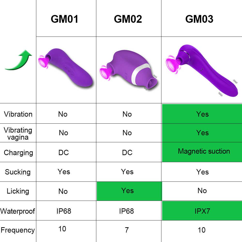 HIWUP seks emme oyuncaklar vibratör güçlü klitoris enayi oral seks dil stimülatörü meme vajina Pussy pompa seks oyuncakları kadınlar için