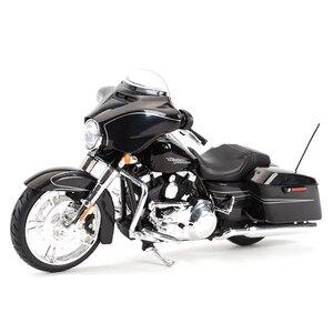 Image 4 - Maisto 1:12 2014 Sportster Ferro 883 Dyna Street Glide Road King CVO Breakout Electra Glide Pressofuso In Lega Modello di Moto Giocattolo