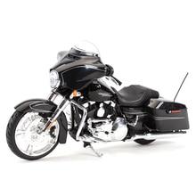 Maisto 1:12 2015 ストリートグライド特別なダイキャスト車両趣味オートバイモデルおもちゃ