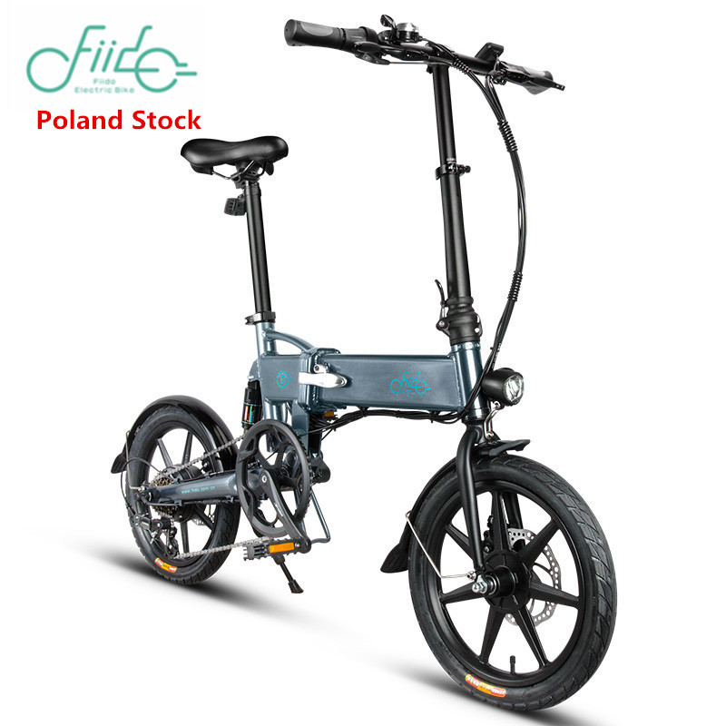 Europe Stock FIIDO D1 D2 D2s D3 D3s 16 Inch Folding Electric Bicycle Aluminum Alloy Dual Disc Brake Electric Bike E Bike Ebike