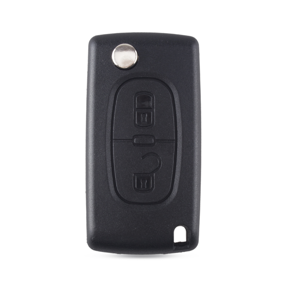 Image 2 - KEYYOU Flip Folding 2/3 Button Car Remote Key Case Shell For PEUGEOT 206 307 308 207 407 408 For Citroen C2 C3 C4 C5 C6 C8-in Car Key from Automobiles & Motorcycles