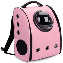 Cat Carrier Bag Breathable Holes Puppy Dog Cat Travel Carrier Pet Backpack for Cats and Small Dogs Space Capsule Cat Bag for 0 6 5kg dog bag carrier portable shoulder carrier for dogs cat pet carrier breathable dog bags for small dogs medium puppy