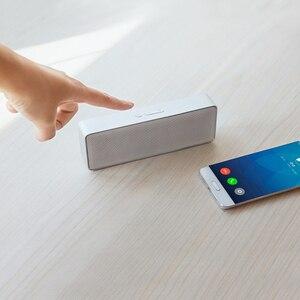 Image 3 - Alto falante portátil xiaomi 2 mi, som estéreo, caixa quadrada, metal, sem fio, para iphone, meizu, huawei, lenovo oneplus
