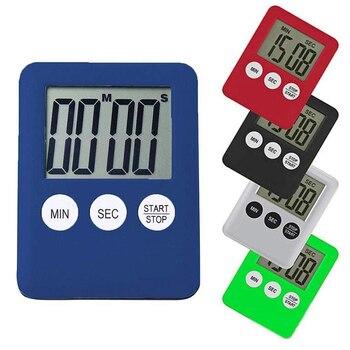Mini temporizador Digital de tiempo de cocina, reloj magnético, cronómetro, para estudio, cocina, ducha, cuenta regresiva, temporizador electrónico, utensilios de cocina