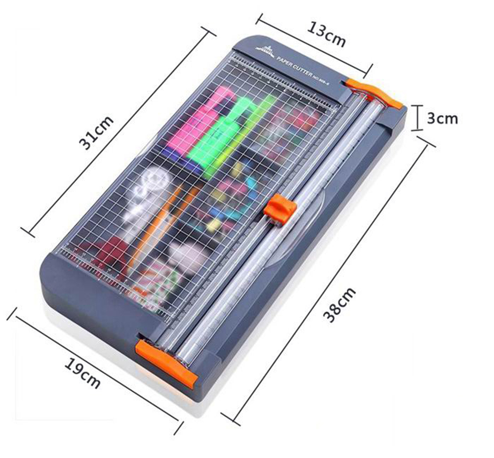A4/A5 Paper Cutter Cutting Mat Machine with Storage Box Office Supplies Photo Label Art Painting Trimmer Scrapbooking Tool Ruler 2