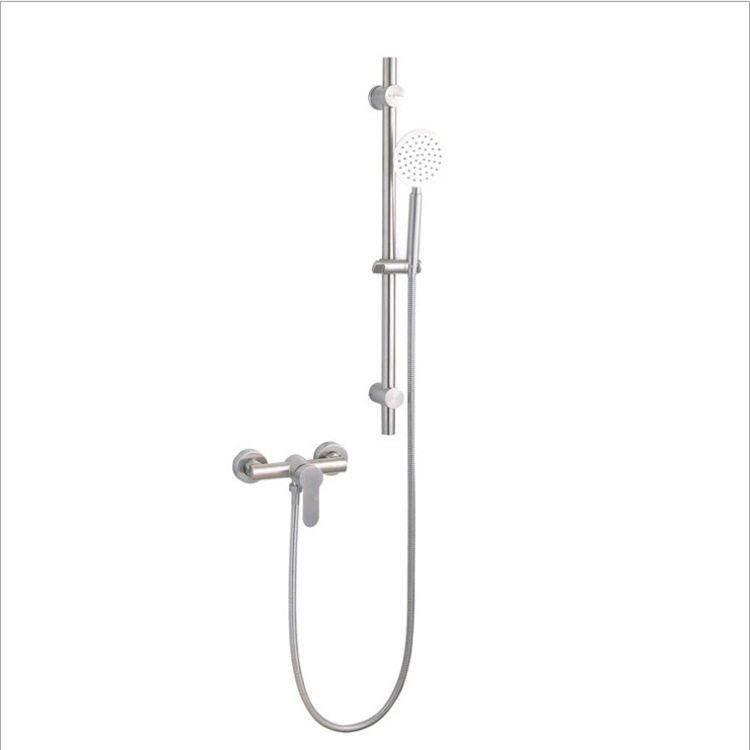 304 Stainless Steel Tub Faucet Hot And Cold Mixing Valve Simplicity Shower Set Sus304 Two Lian Leng Thermal Leading