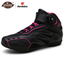 New Motorcycle Boots Men Breathable Botas Moto Motocross Boots Motorcycle Shoes Motorbike Biker Riding Boots Touring Ankle Shoes
