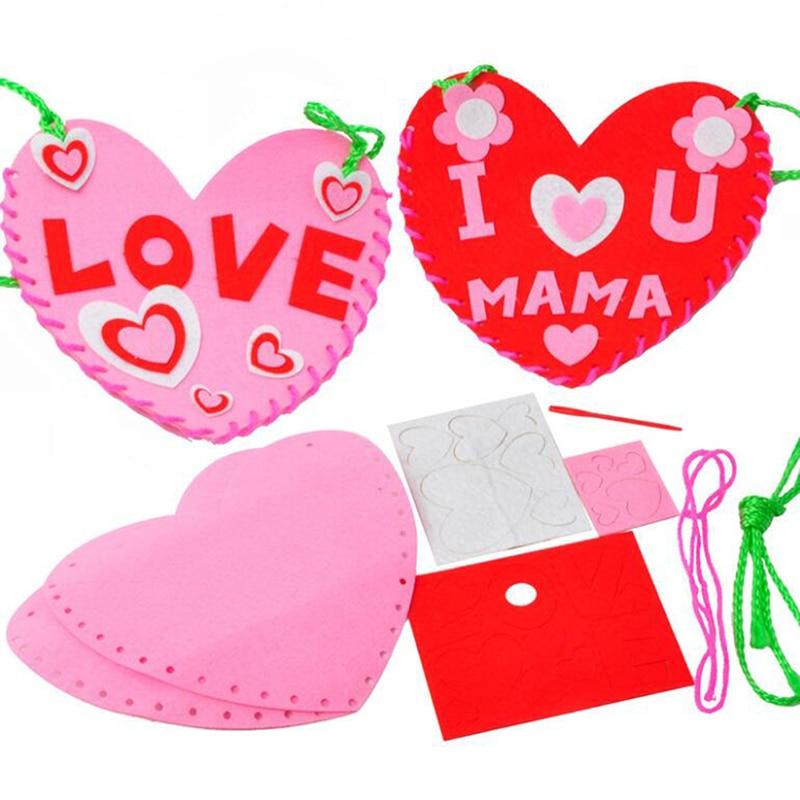 Игрушки для девочек «сделай сам», Детские Поделки, нетканый рюкзак для шитья, Обучающие игрушки, обучающие игрушки Монтессори