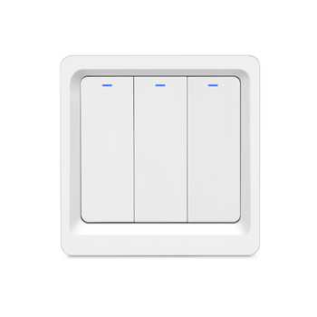 WiFi Smart Light Wall Switch Push Button Smart phone APP Remote Control Voice Control Smart Life Tuya 1/2/3 gang Switch 9