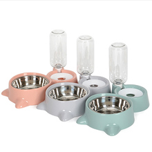 New Automatic Pet Feeder Water Dispenser Cat Dog Drinking Bowl Dogs Dish Hot Sale