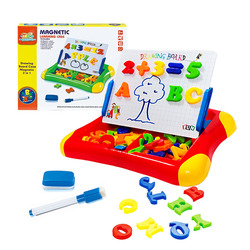 Childrens Magnetic Drawing Board Teaching Aids with Magnetic Digital Symbols English Letter Stickers Series Cognitive Toys
