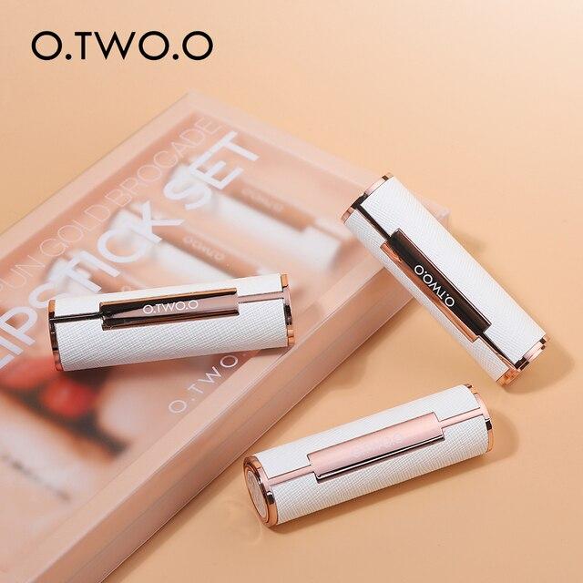 O.TW O.O mode maquillage rouge à lèvres ensemble femmes Sexy rouge à lèvres kit cadeau haute qualité étanche mat rouge à lèvres ensemble cosmétique 3 couleurs
