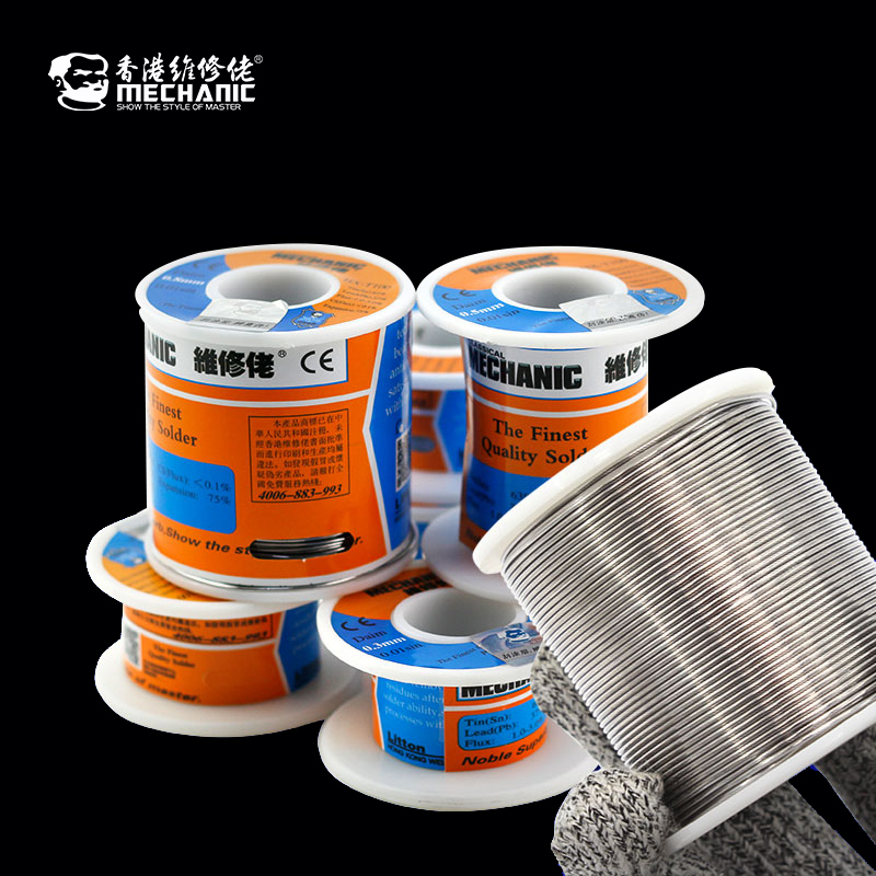 MECHANIC MCN Solder Wire Fine Room Temperature 183 Degrees Melting Point Substrate Dedicated To Lead Soldering Tin Wire