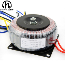 Transformador circular de cobre puro 35va da fonte de alimentação do ampère do tubo do amplificador 35 w 0 v 210 v 0.1a 0 6 v 1a 0 6 v 1a