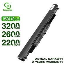 Golooloo 14.4V 4CELL HS04 Laptop battery for HP Pavilion HSTNN LB6V 14 ac0XX 15 ac0XX 255 245 250 G4 240 HS03 hstnn lb6v