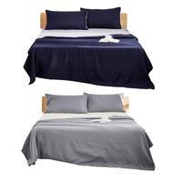 Cotton Plain Quilt Cover Queen King Size Soft Duvet Cover Home Textile Bedding Set Three piece Quilt Cover