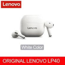 מקורי Lenovo LP40,TWS, אלחוטי אוזניות Bluetooth מגע בקרת ספורט אוזניות סטריאו אוזניות למשחקים אנדרואיד טלפון