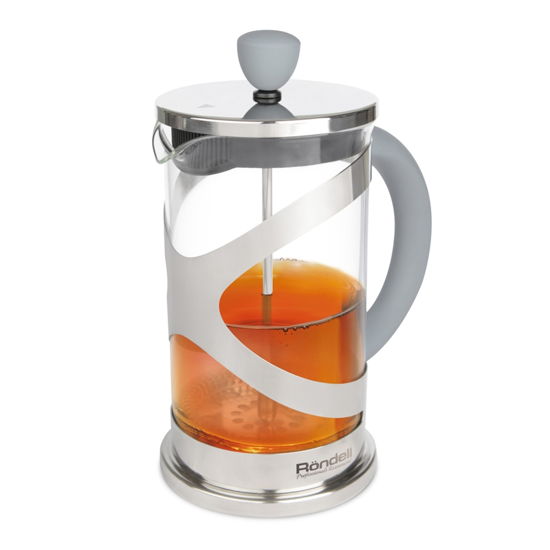 840 French-press 1,0 l Crystal Grey Rondell l godowsky french suite no 1