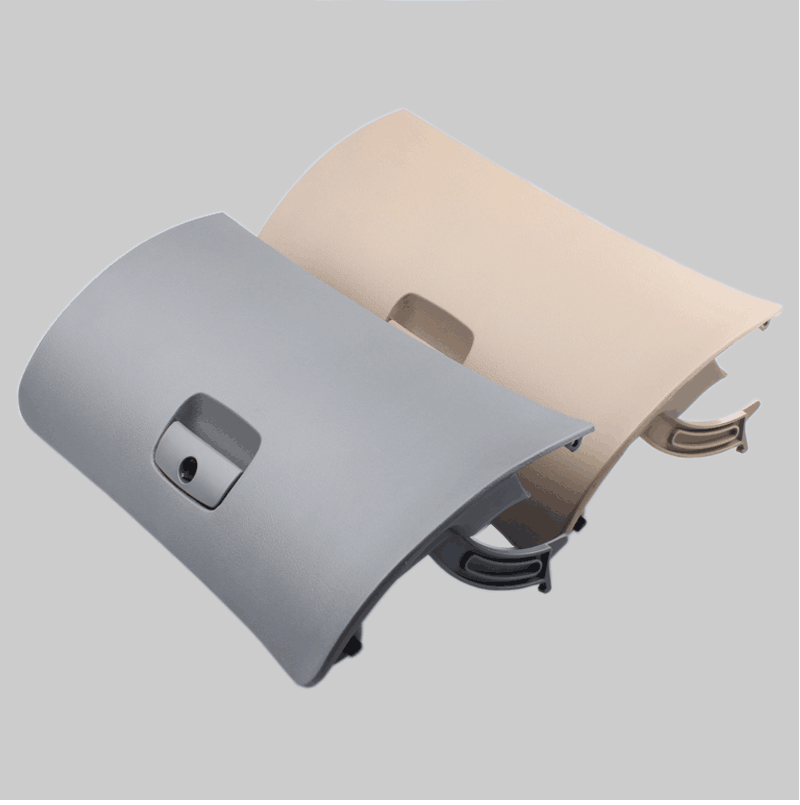 novo estilo do carro auto lidar com tampa de armazenamento console caixa luva porta capa trava