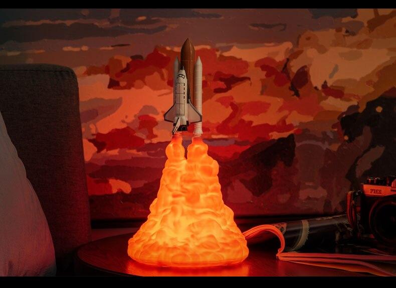 2019 novo dropship 3d impressão espaço shuttle