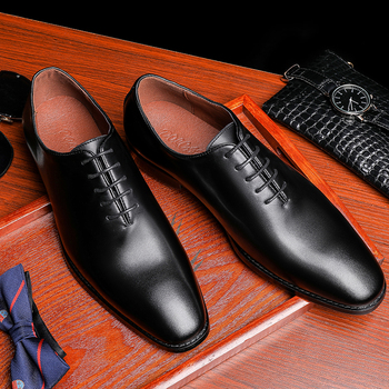 Men Genuine cow leather brogue wedding Business mens casual flats shoes black vintage oxford shoes for men's shoes 2020 eur size 35 40 women genuine leather oxford shoes for women new 2015 brogue leisure flats black platform oxfords shoes