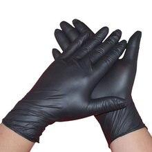 100 шт/лот рабочие перчатки нитриловые бытовая уборка мытье