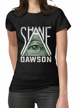 Shane Dawson Illuminati Womens Clothing Tshirts Tees Oversized Tee Shirt(China)