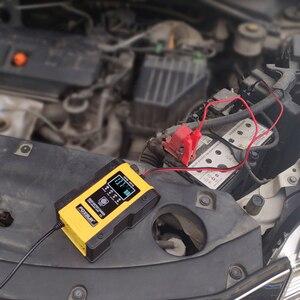 Image 5 - NEUE 12,6 V Lithium Auto Batterie Ladegerät 12V 24V 6A Puls Reparatur Smart Schnelle Ladegerät AGM GEL Blei säure LiFePO4 LiPo 7 bühne Ladegerät
