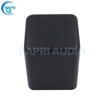 PAPRI 1PCS 85*85*100mm DIY Black Metal Transformer Cover Case Box HIFI  Protect Cover Enclosure For Audio Tube Amplifier wolf audio wf1101 auminum chassis audio amplifier enclosure mini amp case dac box diy house