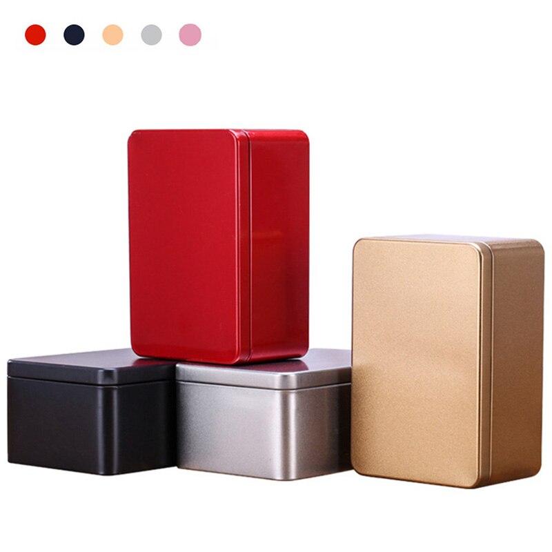 Жестяная коробка, металлические жестяные банки, железная коробка для печенья, чехол, чайная коробка, коробки для хранения мелких вещей, корз...