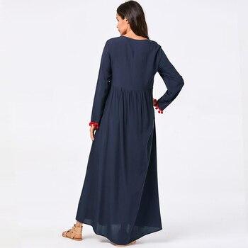Abaya Dubai Hijab Muslim Dress Kaftan Abayas For Women Turkish Dresses Caftan Marocain Omani Robe Islam Vestidos Robe Musulman