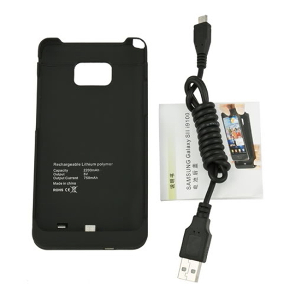 2200Mah replacement battery FOR Samsung <font><b>I9100</b></font> backup battery Lithium-polymer battery image