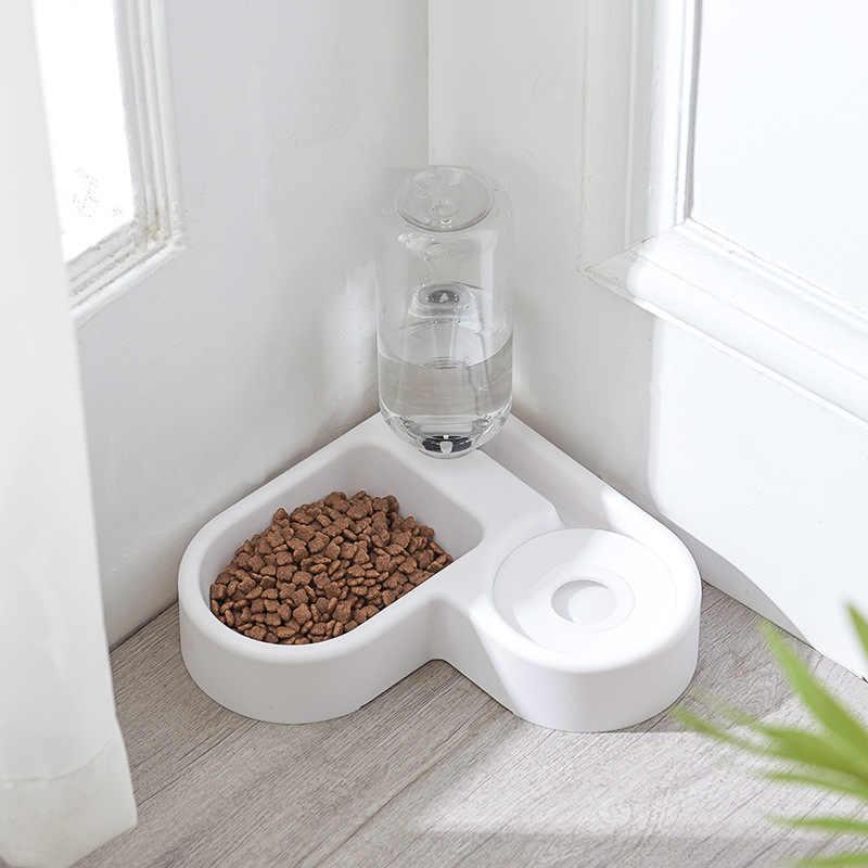 Mới Góc Tô Cho Chó Thú Cưng Ăn Tự Động Cho Chó Mèo Bình Tập Uống Cho Chó Nước Uống Mèo Ăn Lớn Dung Tích Hộp Đựng thú Cưng