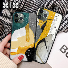 Ins Hot Rock Marble Phone Case for iPhone 12 Pro Max mini Ca