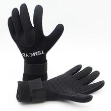 Tsmcyd 3Mm 5Mm Neopreen Duiken Handschoenen Mannen Wetsuit Handschoenen Snorkelen Kanoën Handschoenen Vrouwen Spearfishing Onderwater Jacht Handschoenen