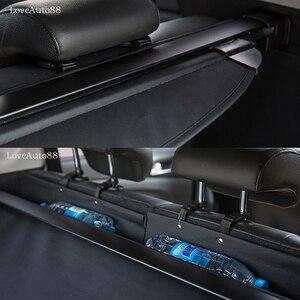 Image 3 - ผ้าม่านรถยนต์ trunk ผ้าม่าน partition ชั้นวางด้านหลังรถจัดแต่งทรงผมอุปกรณ์เสริมสำหรับ Hyundai Tucson 2018 2019 2010 2017