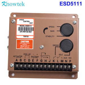 Image 2 - 1 set Generator Actuator ADC120 12V/24V with Governor ESD5500E with Pickup Sensor 3034572For Diesel Generator