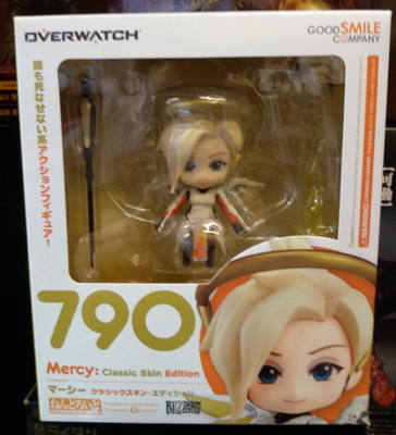 Very Hot and Cool Q Version Overwatch OW Angel Angela Classic Skin PVC Boxed Model Figure Toy for Friends or Children 4