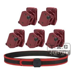 "Image 1 - IPSC Magazine Holster+Belt Set USPSA IDPA 1.5"" Shooting Inner & Outer Belt High Speed 3/4/5x Multi Angle Speed Pistol Mag Pouch"