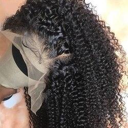 Кудрявый вьющийся парик, кудрявые человеческие волосы парики, полные кружевные человеческие волосы парики с детскими волосами монгольские...