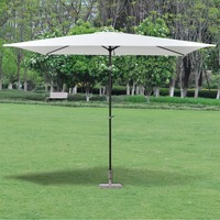 VidaXL Parasol Stone In Granite Poly 30kg Stainless Steel Tube And Polished Granite Umbrella Stand Durable Outdoor Tool