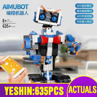 Educational App Control EV3 Robot Compatible With 17101 Boots Creative Toolbox Set Assembly Programming Building Blocks Bricks