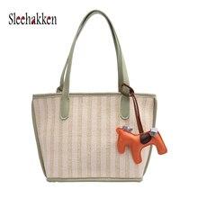 Women's tote purse Fashion Hand-woven osmond design Handbag Autumn new bag korean sac a main femme bolsas feminina Composite bag цена в Москве и Питере