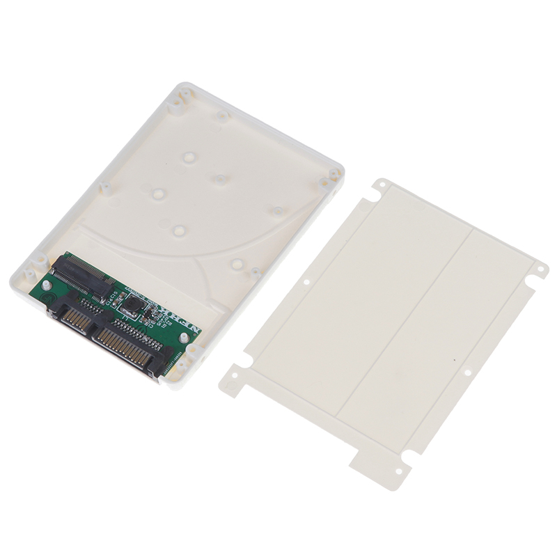 B+M Key M.2 Ngff (sata) Ssd To 2.5 Inch Sata3 Adapter Card With Case Screws