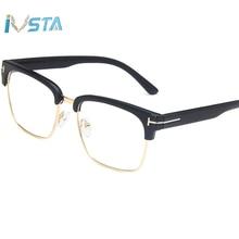 IVSTA TR Optical Frame Big Avaitor Glasses Eyeglass Frames for Men Myopia Fashion with Clear Lenses Lentes Opticos 512