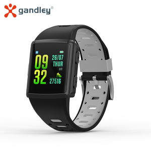 Умные часы gandlEy M3 с квадратным циферблатом и GPS, 2020 для мужчин и женщин, водонепроницаемые Смарт-часы с пульсометром, спортивные Смарт-часы