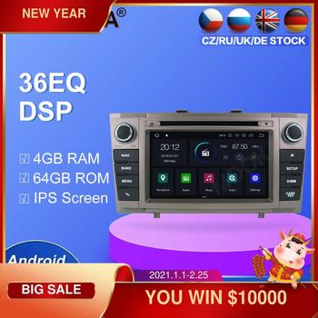 Android 10.0 64GB Car radio player GPS Navigation For Toyota Avensis 2009-2015 T27 Multimedia Player Radio video stereo headunit - discount item  30% OFF Car Electronics