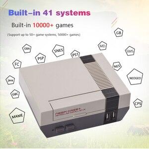 Image 2 - Retroflag console de vídeo game nespi + raspberry pi 3b, com suporte para saída hdmi, pre instalação e multiinstalação recalbox de idiomas e jogos