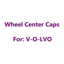 4 pièces/ensemble 56mm 60mm 64mm 68mm Jante Automatique Casquettes Housse de Voiture Accessoires Pour Volvo Capuchons De Moyeu de Roue Insigne Emblème