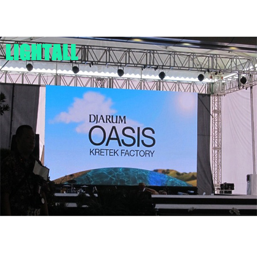 P3 HD Stage Advertising SMD2121 Outdoor LED Display 192*192dots Die Casting Aluminum Cabinet Rental LED Video Wall, led Screen